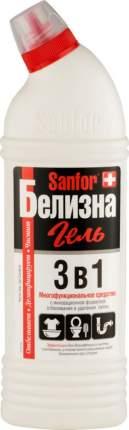Пятновыводитель Sanfor белизна гель 3в1 700 мл