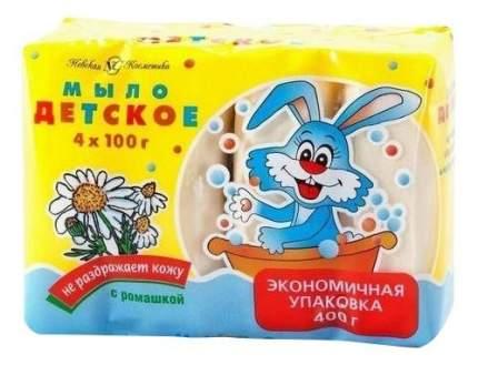 Мыло детское Невская Косметика Ромашка 4*100 г