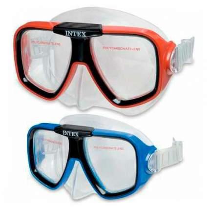 Маска для плавания Intex Reef Rider Masks красная