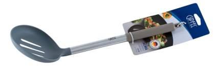 GIPFEL Шумовка ALMA с силиконовой ручкой 34см, Материал: нейлон, силикон, нерж,сталь