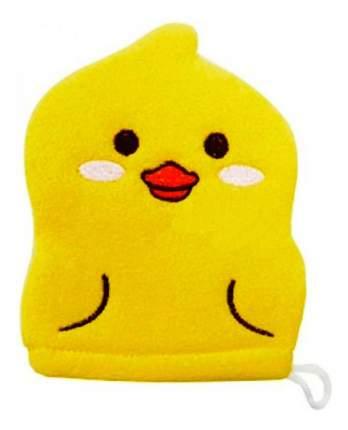 Мочалка-варежка детская Kokubo Желтый утенок