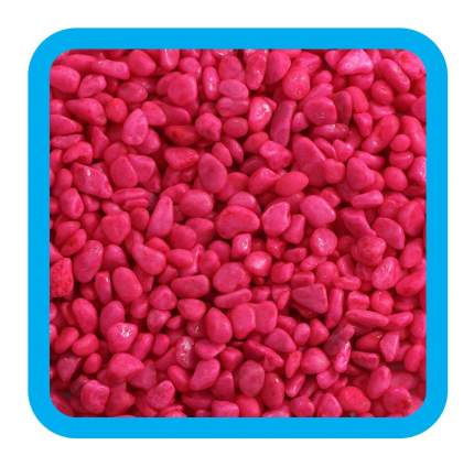 Triol Грунт 20604D Цветной розовый 5-8 мм, 2 кг