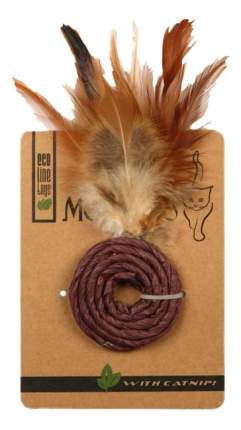 Кольцо для кошек Мон Теро Эко, Перо, Бумага, 5 см