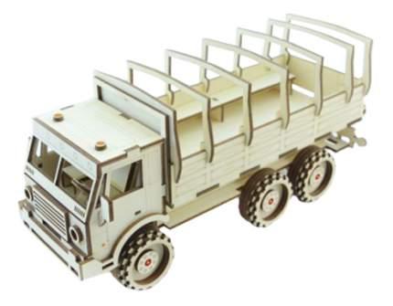 Конструктор деревянный Lemmo Военный Грузовик