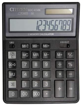 Калькулятор CiTiZEN SDC-414N Черный