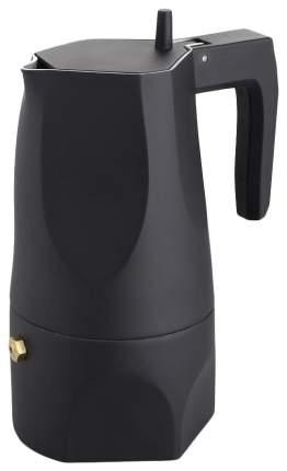 Гейзерная кофеварка Alessi Ossidiana MT18/3 B Black