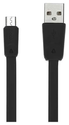 Кабель Hoco x9 microUSB 2м Black