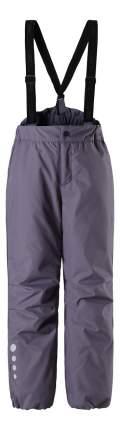 Брюки детские Reima Winter pants с подтяжками черные р.92