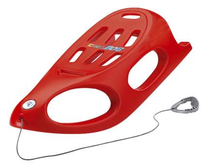 Санки детские пластиковые KHW Grazy Bob красные