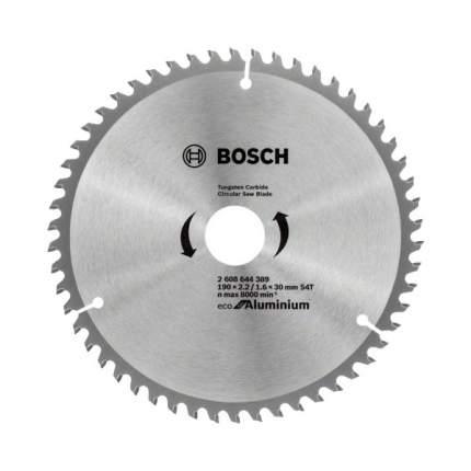 Диск по дереву Bosch ECO ALU/Multi 190x30-54T 2608644389