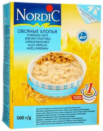 Хлопья Nordic овсяные