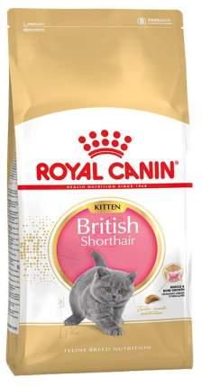Сухой корм для котят ROYAL CANIN British Shorthair Kitten, британская,домашняя птица,0,4кг