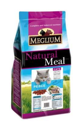 Сухой корм для кошек Meglium Adult, рыба, 15кг