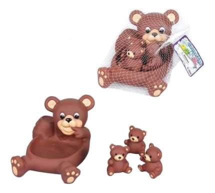 Игрушка для купания Shantou Gepai Медвежата 4 предмета