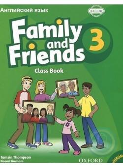 Family & Friends 3 Class Book & MultiROM Pack (Rus ED)