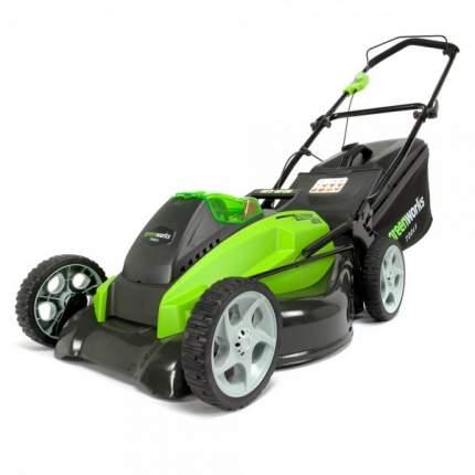 Аккумуляторная газонокосилка GreenWorks G40LM45UA 2500107UA