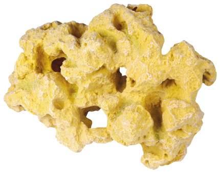 Камень для аквариума искусственный желтый