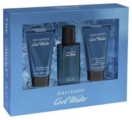 Парфюмерные наборы Davidoff Cool Water Man 40+50+50 мл