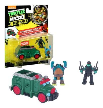 Бронированный грузовик с фигурками Рафа и Слеша Playmates Toys Черепашки ниндзя 87611