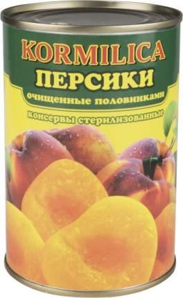 Персики Кормилица очищенные половинками 425 мл