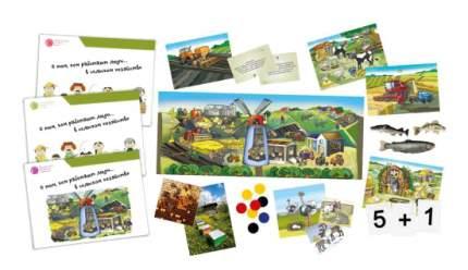 Настольная игра Профессии Сельское хозяйство (зеленый) Умница