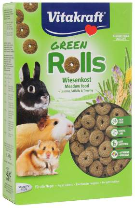 Корм для грызунов Vitakraft Grignote Rolls 0.5 кг 1 шт