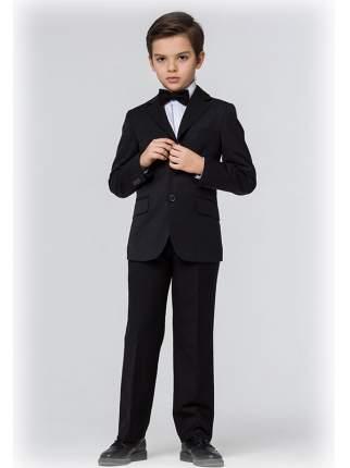 Школьная форма Silver spoon костюм черный: пиджак и брюки р.158
