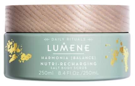 Скраб Lumene Harmonia Nutri-Recharging Salt Body Scrub