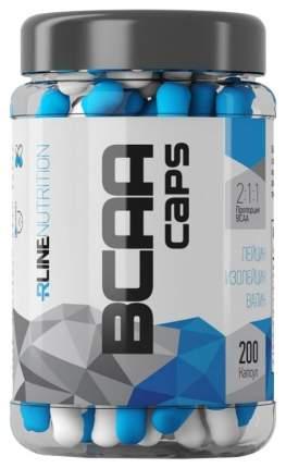 Rline BCAA 200 капсул без вкуса