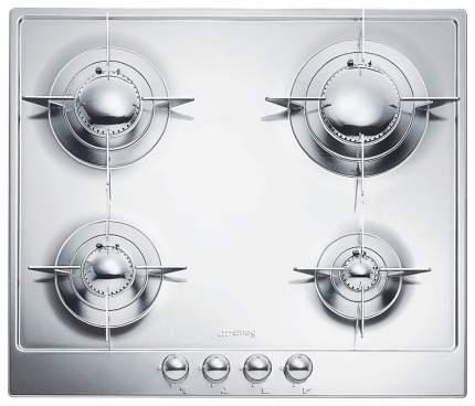 Встраиваемая варочная панель газовая Smeg P64ES Silver