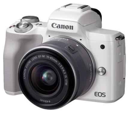 Фотоаппарат системный Canon EOS M50 15-45-White