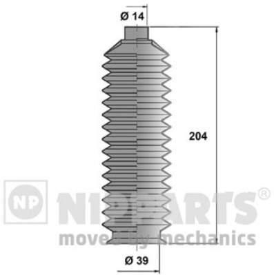 Пыльник рулевой тяги Nipparts J2843000