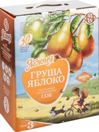 Сок свежевыжатый Яблоня груша-яблоко 3 л