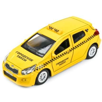 Машинка Технопарк металлическая инерционная kia ceed Такси 12 см