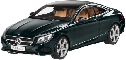 Коллекционная модель автомобиля Mercedes S-Class Coupe, Scale 1:18 Emerald Green B66961244