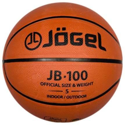 Баскетбольный мяч Jogel JB-100 №5 №5 orange