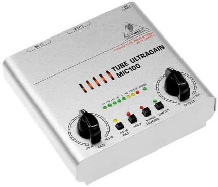 Микрофонный предусилитель Behringer Ultragain MIC100