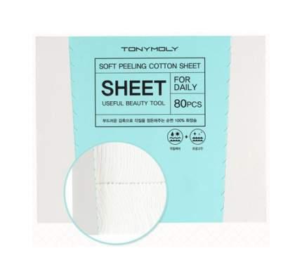 Ватные диски Tony Moly Soft Cotton Peeling Sheet