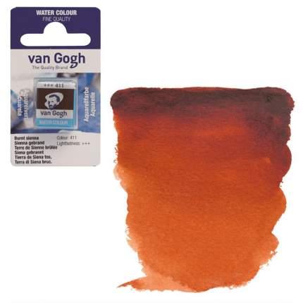 Акварельная краска Royal Talens Van Gogh №411 сиена жженая 10 мл