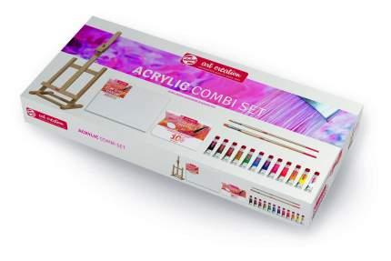 Акриловые краски Royal Talens Art Creation + аксессуары 12 цветов