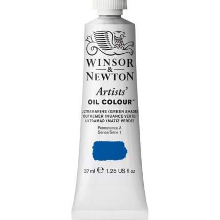 Масляная краска Winsor&Newton Artists ультрамарин зеленый оттенок 37 мл