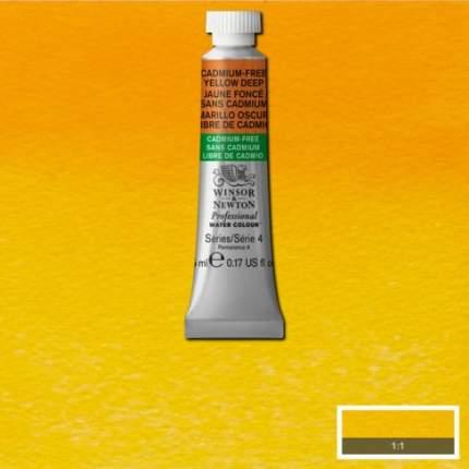 Акварель Winsor&Newton Professional Cadmium Free темно-желтый 5 мл
