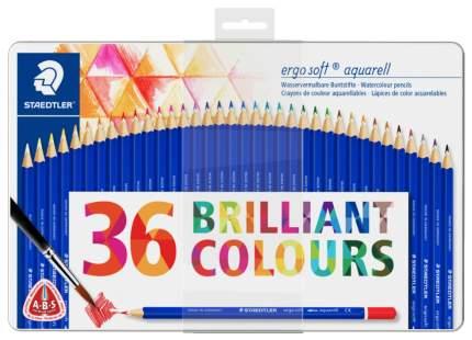 Набор акварельных карандашей Ergo Soft трехгранные 36 цветов Staedtler