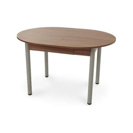 Кухонный стол Mebelson, 120,4-160,1-199,8х90,2х73,6 см серый/бежевый