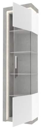 Платяной шкаф Любимый Дом LD_56836 55х37х200, белый/серый