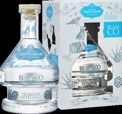El Destilador Premium Artesanal Blanco Santa Lucia (gift box)