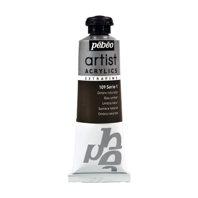 Акриловая краска Pebeo Artist Acrylics extra fine №1 умбра натуральная 37 мл