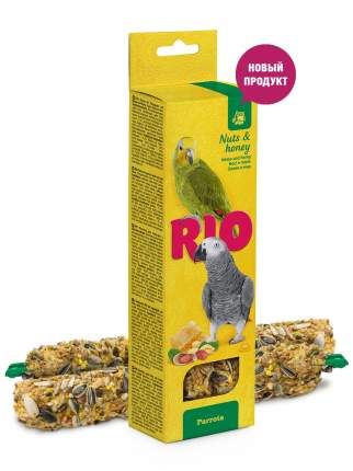 Лакомство для попугаев RIO Палочки с орехами и медом 2 х 90 гр., 0,18 кг