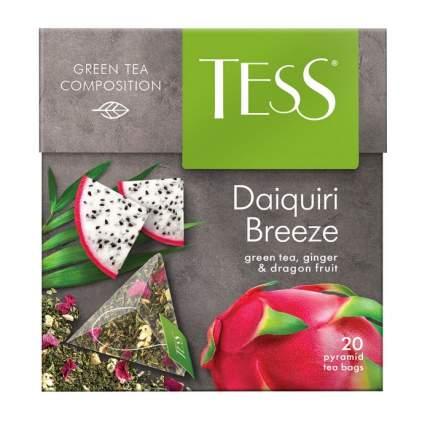 Чай зеленый Tess в пирамидках фруктовый daiquiri breeze 20 пакетиков