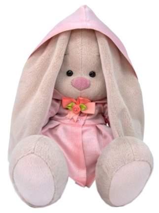 Мягкая игрушка BUDI BASA Зайка Ми в розовом плаще, 23 см